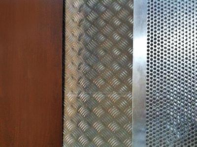 Hiromegal carpinter a met lica aluminio y pvc - Chapas metalicas decorativas ...